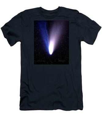 Comet Hale-bopp Men's T-Shirt (Athletic Fit)