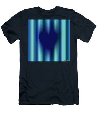Expanding Heart 2 Men's T-Shirt (Athletic Fit)