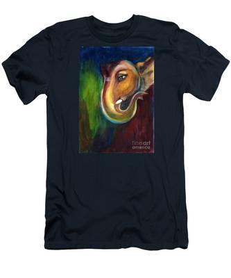 Ganesha Men's T-Shirt (Athletic Fit)