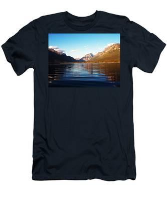 Glacier National Park 7 Men's T-Shirt (Athletic Fit)