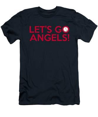 Let's Go Angels Men's T-Shirt (Athletic Fit)