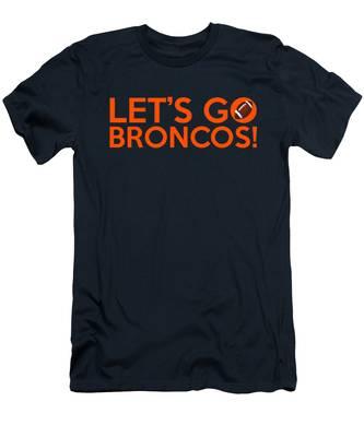 Let's Go Broncos Men's T-Shirt (Athletic Fit)