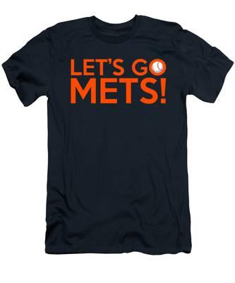 Let's Go Mets Men's T-Shirt (Athletic Fit)