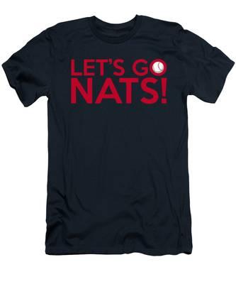 Let's Go Nats Men's T-Shirt (Athletic Fit)