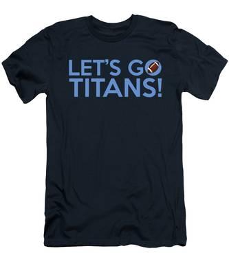 Let's Go Titans Men's T-Shirt (Athletic Fit)