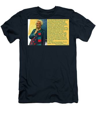 Mama Frances Cress Welsing Men's T-Shirt (Athletic Fit)