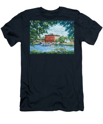 Rever's Marina Men's T-Shirt (Athletic Fit)