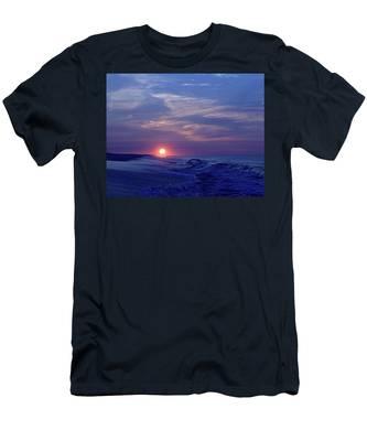 Summer Sunrise I I Men's T-Shirt (Athletic Fit)