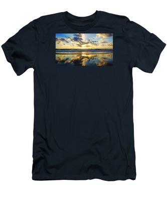 Sunrise Reflections Men's T-Shirt (Athletic Fit)