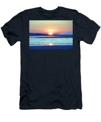Sunrise X I V Men's T-Shirt (Athletic Fit)