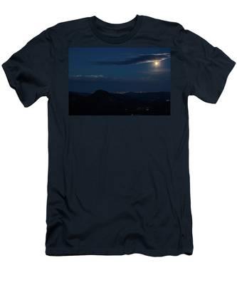 Super Moon Eclipse Men's T-Shirt (Athletic Fit)