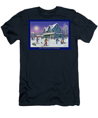 The Morning After At Campton New Hampshire Men's T-Shirt (Athletic Fit)