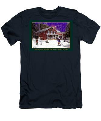 The South Woodstock Country Store Men's T-Shirt (Athletic Fit)
