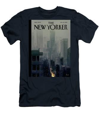 Big City Men's T-Shirt (Athletic Fit)