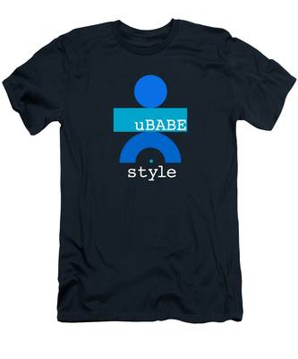 Blue Babe Men's T-Shirt (Athletic Fit)