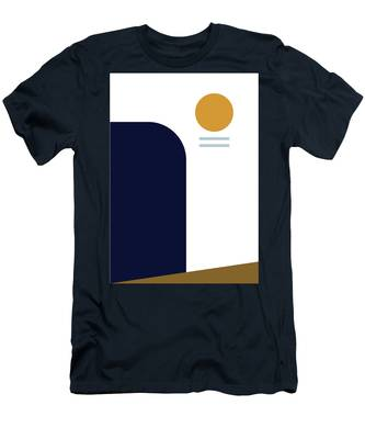 Geometric Painting 2 Men's T-Shirt (Athletic Fit)