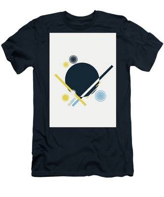 Geometric Painting 3 Men's T-Shirt (Athletic Fit)