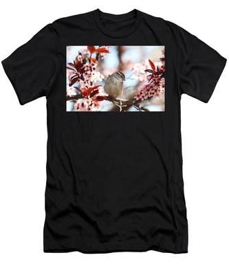 Beautiful Sparrow Men's T-Shirt (Athletic Fit)