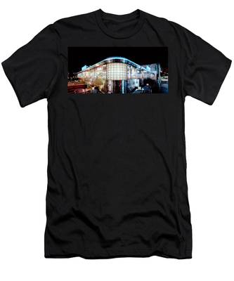 11th Street Diner Men's T-Shirt (Athletic Fit)