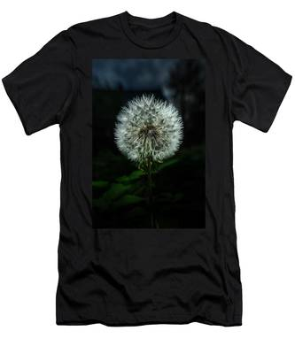 Men's T-Shirt (Athletic Fit) featuring the photograph Dandelion by Michael Goyberg