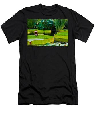 A Garden In Gentle Waters Men's T-Shirt (Athletic Fit)