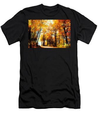 A Golden Day Men's T-Shirt (Athletic Fit)