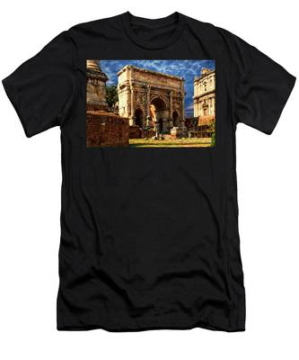 Arch Of Septimius Severus Men's T-Shirt (Athletic Fit)
