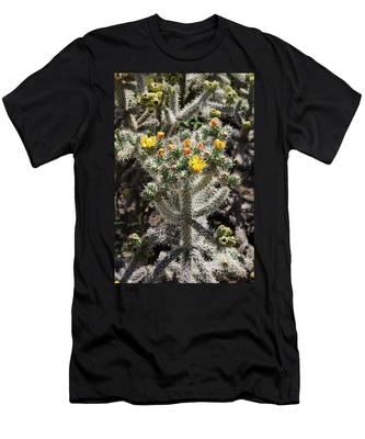 Arizona Cactus Men's T-Shirt (Athletic Fit)