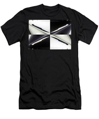 B And W Chevy Men's T-Shirt (Athletic Fit)