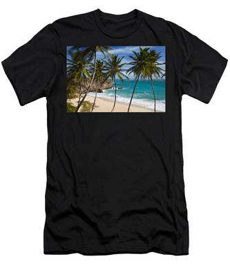 Barbados Beach Men's T-Shirt (Athletic Fit)