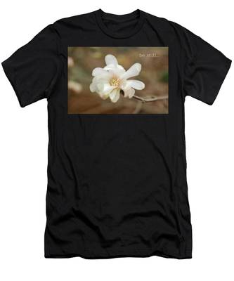 Be Still Men's T-Shirt (Athletic Fit)