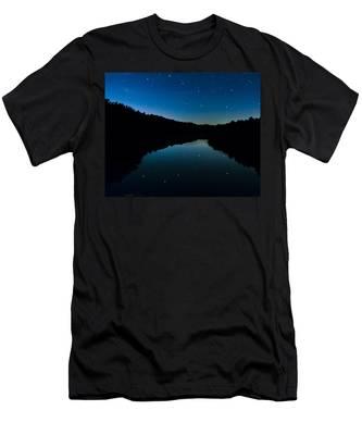 Big Dipper Reflection Men's T-Shirt (Athletic Fit)