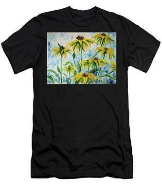 Black Eyed Suzans Dream Men's T-Shirt (Athletic Fit)