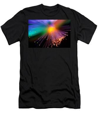 Black Hole Sun Men's T-Shirt (Athletic Fit)