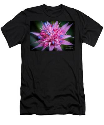 Blooming Bromeliad Men's T-Shirt (Athletic Fit)