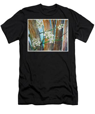 Blooms Of The Cleaveland Pear Men's T-Shirt (Athletic Fit)