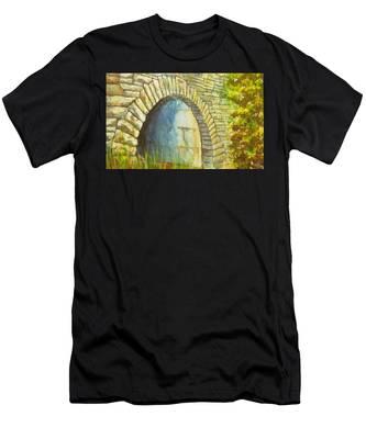 Blue Ridge Tunnel Men's T-Shirt (Athletic Fit)