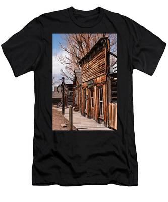 Business Block Men's T-Shirt (Athletic Fit)