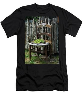 Chair Planter Men's T-Shirt (Athletic Fit)