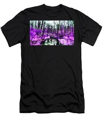 Creek By Purple Men's T-Shirt (Athletic Fit)