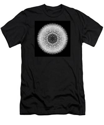 Dandelion Head Flower Mandala Men's T-Shirt (Athletic Fit)