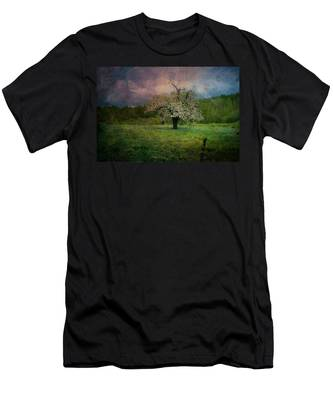Men's T-Shirt (Athletic Fit) featuring the photograph Dream Of Spring by Jeff Folger