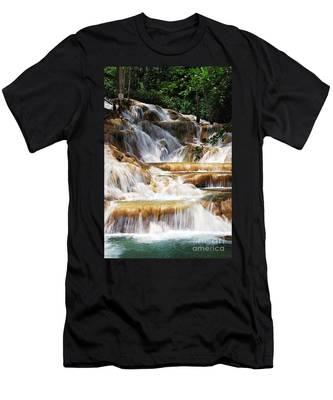 Dunn Falls _ Men's T-Shirt (Athletic Fit)