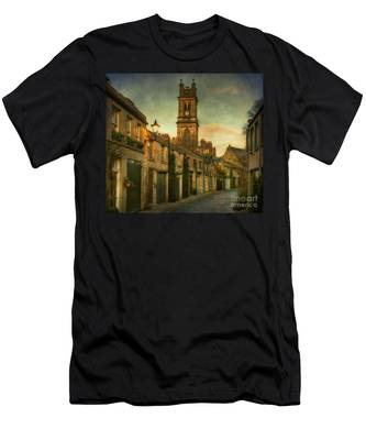 Early Morning Edinburgh Men's T-Shirt (Athletic Fit)