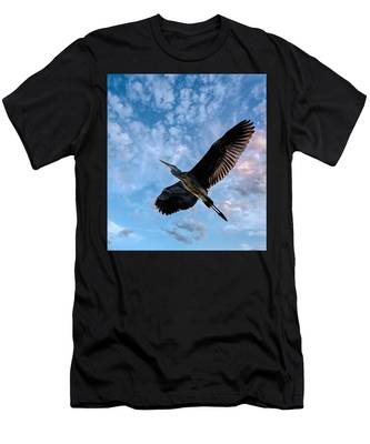 Flight Of The Heron Men's T-Shirt (Athletic Fit)