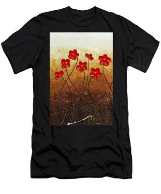 Flores De Mi Jardin 1 Men's T-Shirt (Athletic Fit)