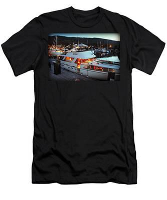 Freia At Dusk Men's T-Shirt (Athletic Fit)