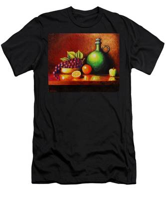 Fruit And Jug Men's T-Shirt (Athletic Fit)