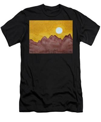 Gallup Original Painting Men's T-Shirt (Athletic Fit)
