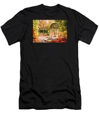 Garden Of Beauty Men's T-Shirt (Athletic Fit)